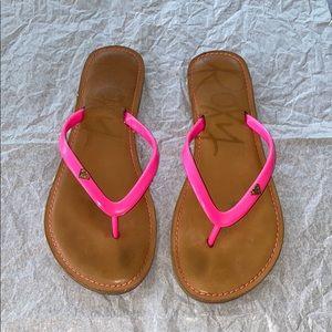 Roxy, sandals!